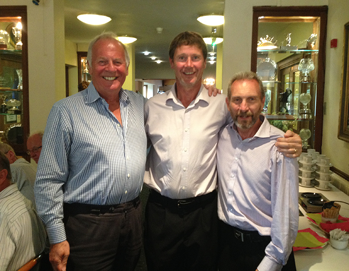 Phil, Clive and Fred - winning team