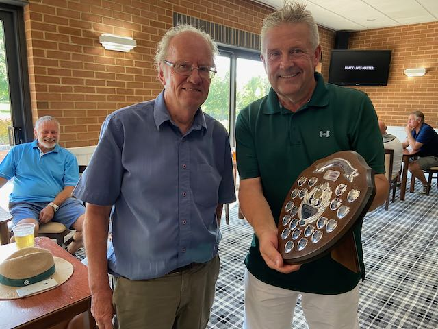 Stableford Shield winner: Ken Wapling
