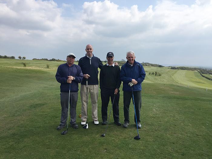 Jerry, Alan, Chris and David await their turn