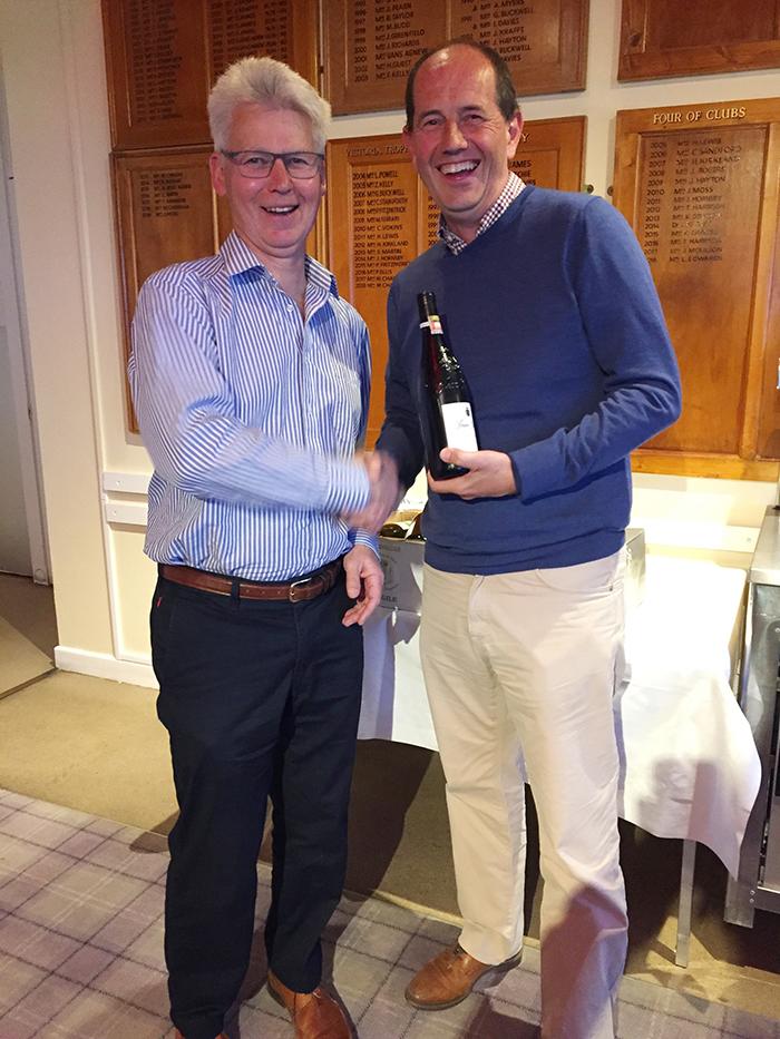 Individual winner: Mr Andrew Williams