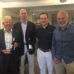 Team Stableford Winners: Dereck Coppard, Alan Bigley, Andrew Burnett, Kevin Leftley