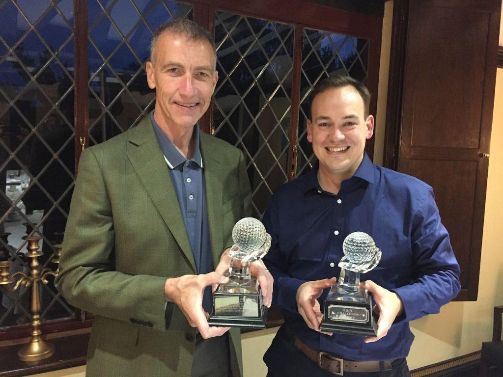 GBH Trophy Winners: Kevin Hawkins & Andrew Burnett