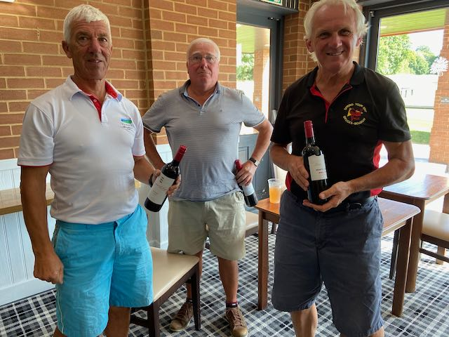 Team Stableford Winners: Chris Buck, Tony Coggill and David Howroyd