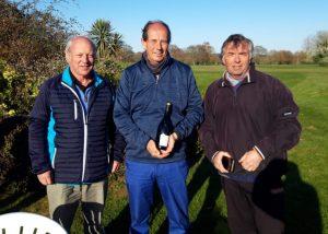 Team winners of Nigel Burnett, Andrew Williams and Jerry Watkiss